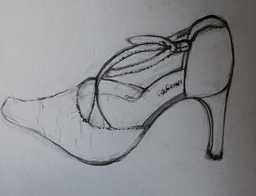 Schoen  (pump) (Shoe, Schuh, chaussure) van Catharina Mastenbroek