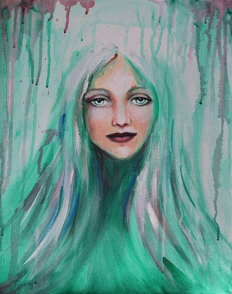 groene fee van Marije du Bateau