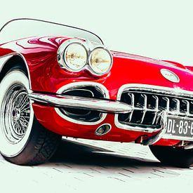 """""""Little Red Corvette"""" van marco de Jonge"""