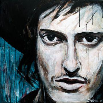 Porträt von Eloi Youssef von Kensington. von Therese Brals
