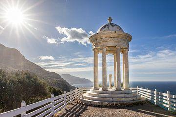 Tempel im Garten Son Marroig auf Mallorca von Christian Müringer