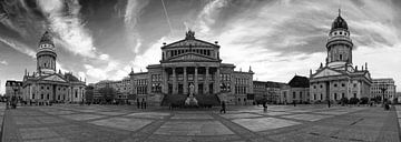 Gendarmenmarkt Berlin Panorama von Frank Herrmann