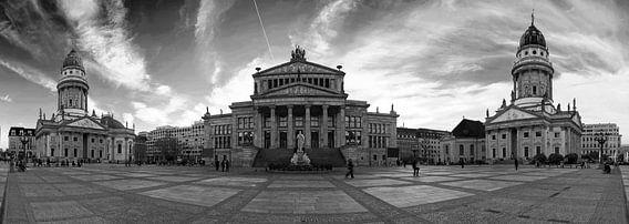 Gendarmenmarkt Berlijn Panorama