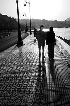 romantisch wandelen van Renée Teunis