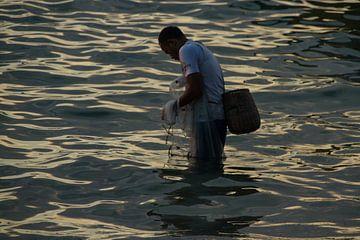 Traditioneel vissen van Leanne lovink