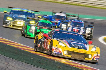 Larbre Competition Chevrolet Corvette C7.R race auto van Sjoerd van der Wal