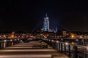 Lebuinuskerk Deventer bij avond