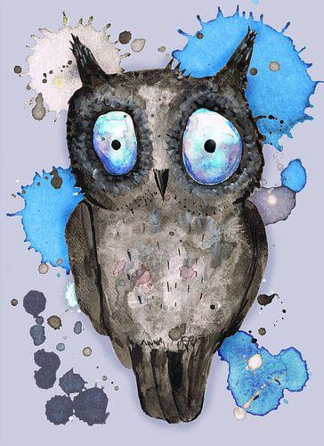 Blauw Oog uil