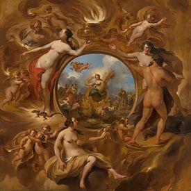 Allegorie op de zomer, Nicolaes Pietersz Berchem van Meesterlijcke Meesters
