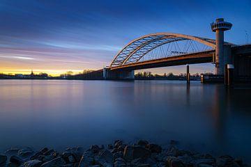 Rotterdam : pont Van Brienenoord et IJsselmonde sur Mark De Rooij