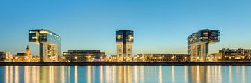 Crane Houses in Cologne panorama van