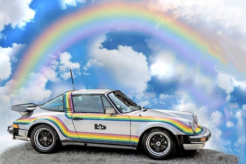 911 Turbo-Targa-Rainbow bb Posche von Roland Klinge