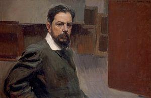 Selbstporträt, Joaquín Sorolla y Bastida