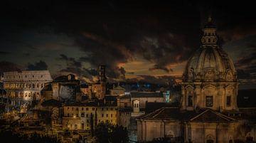 Rome Skyline sur Mario Calma