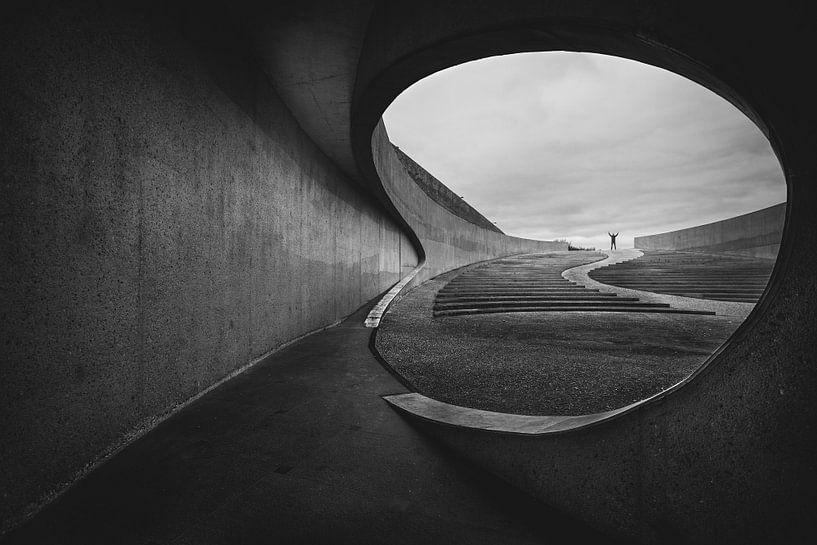 Architectuur - Onder de brug van Steven Dijkshoorn