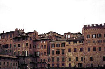 Piazza del Campo in Siena van Jessica van den Heuvel