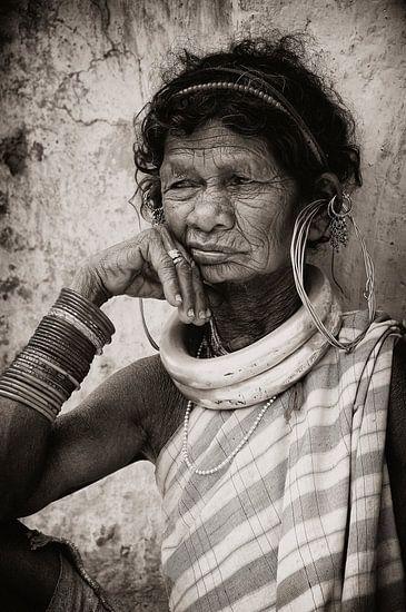Bejaarde Dame.