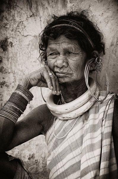 Bejaarde Dame. van Ton Bijvank