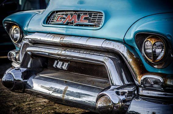 GMC 1955 V8 van Peter Vruggink