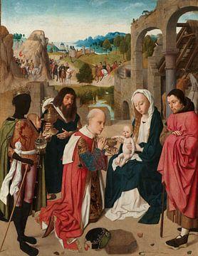 Die Anbetung der Könige, Geertgen tot Sint Jans, um 1480 - um 1485