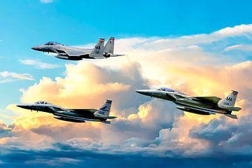 F-15 Eagle  Kompilation von Gert Hilbink