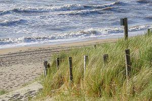 Afrit naar het strand