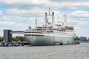 SS Rotterdam Achtersteven van