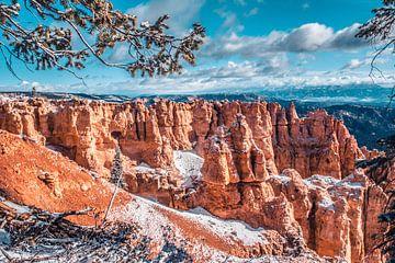 De indrukwekkende rotsformaties in Bryce Canyon van Rietje Bulthuis
