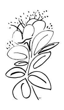 Blume sprechen Blätter von ART Eva Maria
