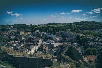 Een cityscape van Valkenburg (2) van
