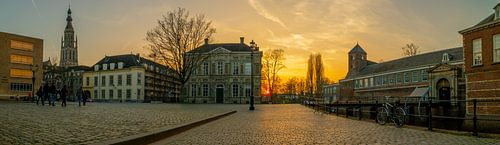 Breda - Panorama Kasteelplein