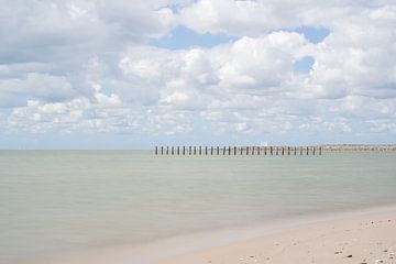 Strand van Marker Wadden