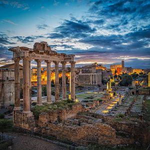 Rome - Forum Romanum - Colisée sur Teun Ruijters