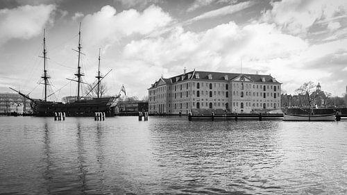 Het Scheepvaartmuseum in Amsterdam van