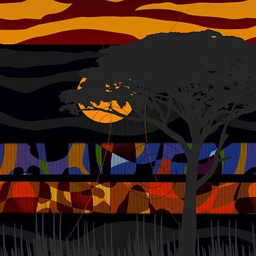 African Impression van Andreas Wemmje