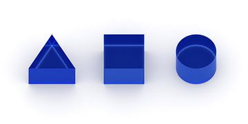 3D corps bleu sur Jörg Hausmann