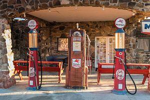 Tankstelle an der Route 66