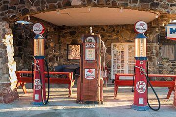 Tankstelle an der Route 66 sur Kurt Krause