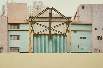 Oude fabriek van