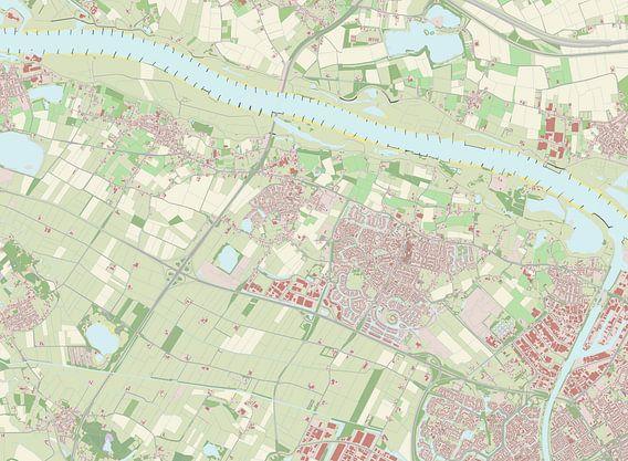 Kaart vanBeuningen