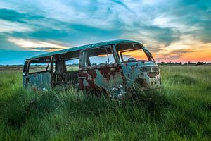 VW sunset