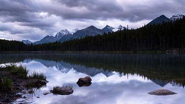 Herbert Lake, Banff National Park, Alberta, Kanada von Alexander Ludwig