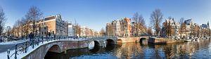 Amsterdam gracht panorama van