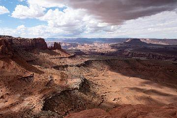 Sturm über Canyonlands, Utah von John Faber