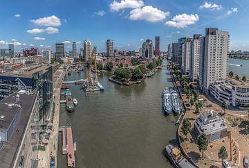 Leuvehaven Rotterdam van Rene Ladenius Digital Art