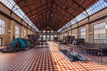 Maschinenhalle C-Mine von Rob Boon