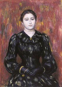Porträt von Mme. Paulin, Pierre-Auguste Renoir