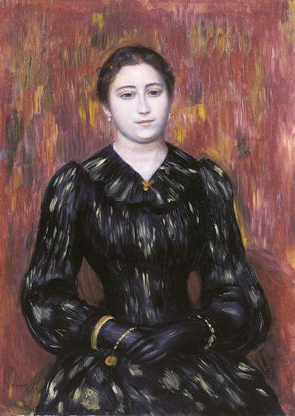 Porträt von Mme. Paulin, Pierre-Auguste Renoir von Meesterlijcke Meesters