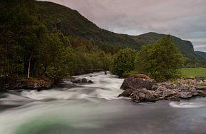 Vloeiend water Noorwegen