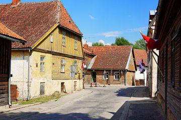 Charmante Altstadtszene in Goldingen sur Gisela Scheffbuch